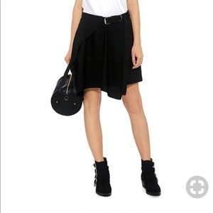 • Carven • Women's Asymmetrical Black Mini Skirt 2